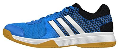 adidas Herren Ligra 4 Volleyballschuhe, Azul (Azuimp/Ftwbla/Negbas), 44 EU (Adidas Herren Volleyball Schuhe)