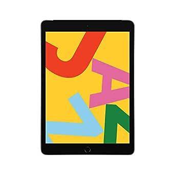 Apple iPad (10.2-inch, Wi-Fi + Cellular, 128GB) - Space Grey (Latest Model)