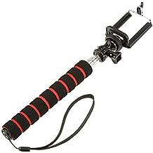 Andoer Selfie Monopod Handheld Grip Pole Auto-Temporizador Extensible para GoPro iPhone Samsung Cámara