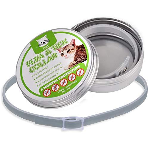 Eletam Hundehalsbänder Stechmücken Repellent Kragen Insect Control Halsbänder für Haustiere Hunde Katzen Anti Floh Zecken Lice Verhindert, DASS