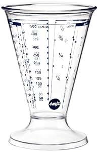 Emsa 2206050000 Messbecher, 0,5 Liter, Transparent, Superline