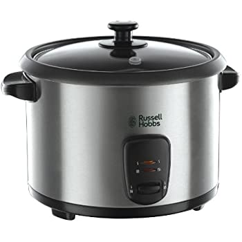 0.6 Litre Cooked Rice Capacity 1.5 Litre White Elgento E19013 Rice Cooker