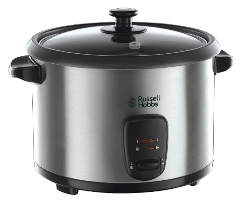 Russell Hobbs Rice Cooker and Steamer 19750, 1.8 L – Silver
