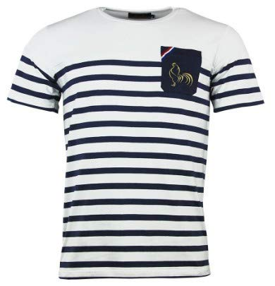 T-Shirt Rugby France Marinière - La française - L