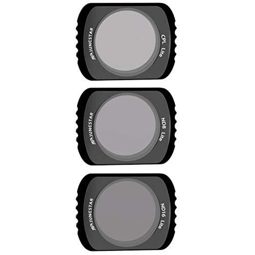 jfhrfged 3pcs CPL + ND8 + ND16 Kameraobjektivfilter für DJI Tasche