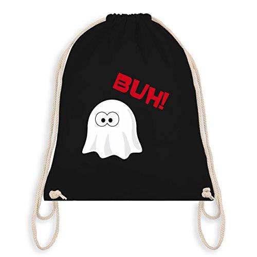 Halloween - Kleiner Geist Buh süß - Unisize - Schwarz - WM110 - Angesagter Turnbeutel / Gym Bag