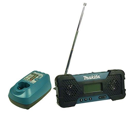 Makita MR051 10,8V Akku - Baustellen - Radio + Ladegerät + Akku