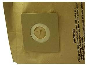 5,8 aspirateur nettoyeur Lot de 5 sacs pour aspirateurs HOOVER TF2011011