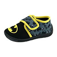 DC Comics Boys Batman Slippers Indoor House Shoes