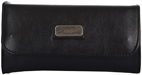 Yazlyn Collection Women's Clutch/wallet/purse (Black, YZ187)  available at amazon for Rs.99