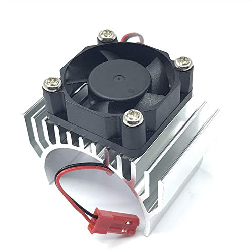 LaDicha Aluminiumalloy 540/550 Motor Heatsink Radiator Mit Fan Jst Connector Für Einhalb-10 Rc Car Parts - Dunkelblau -