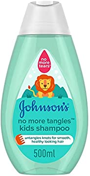 JOHNSON'S Toddler & Kids Shampoo - No More Tangles, Formula Free of Parabens & Dye