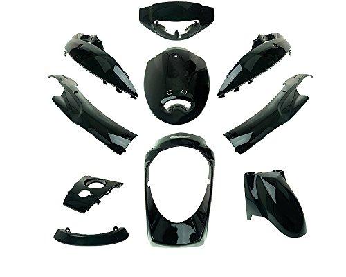 Verkleidungskit schwarz 10teilig für JINLUN JL50QT-5