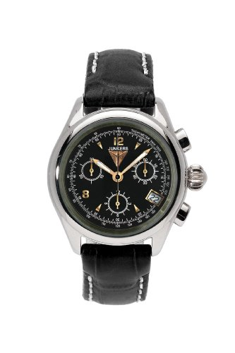 Junkers Women's Quartz Watch with Chronograph Quartz Leather 62892