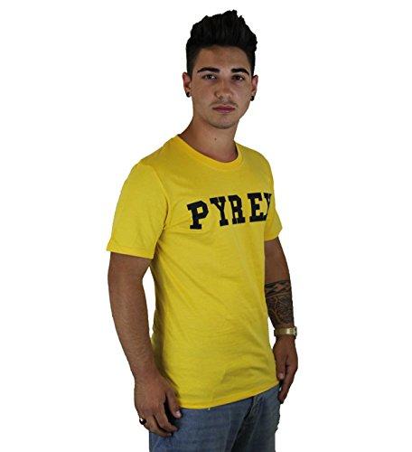 Pyrex SHIRT UNISEX GRAPHIC TEE 28300 Gelb