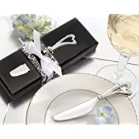Spread the Love Chrome Spreader with Heart-Shaped Handle (Set of 48) - Party Favors by Kate Aspen preisvergleich bei billige-tabletten.eu