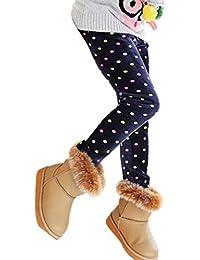 RETUROM Muchachas De Los Niños De Los Pantalones, Moda Cálida Invierno De Las Muchachas De Las Polainas Caliente Grueso De La Cintura Elástico Legging Pantalones Ropa