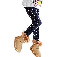 Muchachas De Los Niños De Los Pantalones,RETUROM Moda CÁLida Invierno De Las Muchachas De Las Polainas Caliente Grueso De La Cintura ElÁStico Legging Pantalones Ropa