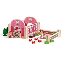 Erzi erzi41355Horse Ranch juguete