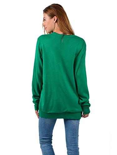 291f6fac17e8 ... Unisex Weihnachten Pullover,Leapparel Herren und Damen Strickpullover  Ugly Christmas Sweater Jumper Fasching Kostüm Rentier ...