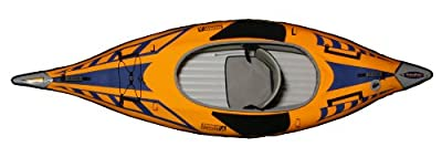 Advanced Elements Unisex Adult AdvancedFrame Sport Kayak - Orange, by Advanced Elements