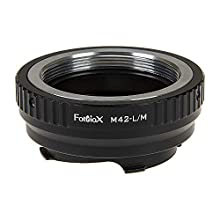 Fotodiox Lens Mount Adapter Compatible with M42 Lenses on Leica M-Mount Cameras