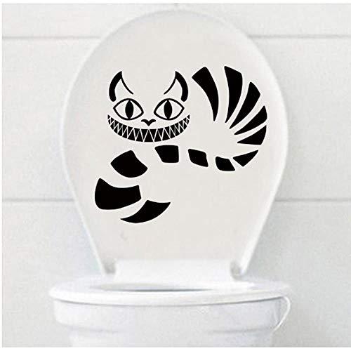 Etiqueta de la pared Alicia en el país de las maravillas gato...
