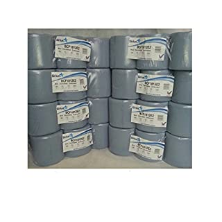 Blue Centre feed Embossed Rolls Wiper Paper Towel Centrefeeds 48 rolls(8 PACKS)x