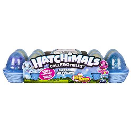 Spin Master 6041336 – Hatchimals – CollEGGtibles Eierkarton 12 Stück Season 3