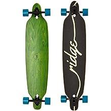 "Ridge Longboard Estantería Series Laser Cut Twin Tip Verde verde, azul Talla:104 cm (41"")"