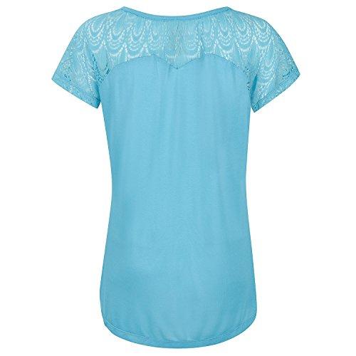 Urban Beach Aqua Island House T-Shirt Femme bleu