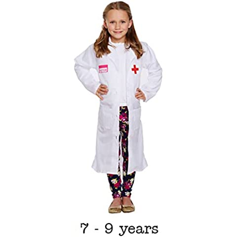 Disfraz niño médico niña Medium 7–9años
