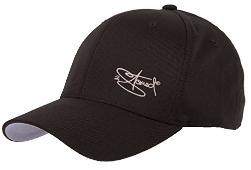 Flexfit Cap Wooly Combed Braun mit Stick von 2Stoned, Größe L/XL (58 cm - 60 cm), Basecap für Damen und Herren (Fitted Cap Brown)