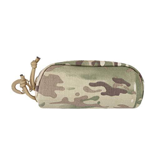 FeiyanfyQ tragbare Molle-Reißverschluss-Sonnenbrillen-Schutztasche Aufbewahrungsbox, Camouflage