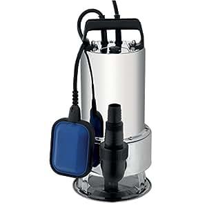 Pompes immergées - Pompe immergée eau chargée inox 750W