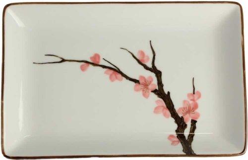 """Sakura"" 桜 Sushi-Teller 20 x 13 x 2,5cm"