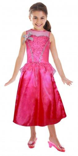 Barbie™ Prinzessinnen-Kostüm für Mädchen - 3-5 (Kostüme Barbie Für Mädchen)