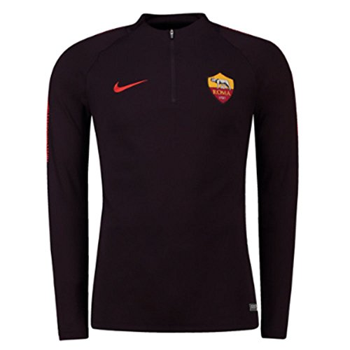 Nike 2018-2019 AS Roma Training Drill Top (Burgundy)