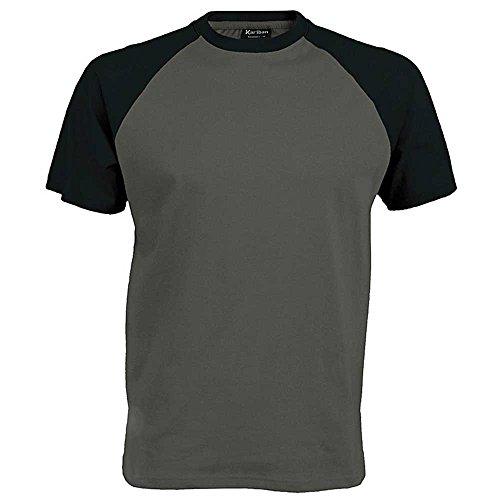 Kariban Mens short sleeved baseball T-Shirt
