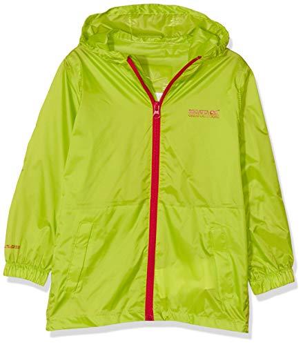 Regatta Kid Pk It Jkt III Jacket, Lime Zest, 9-10