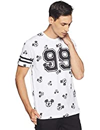 Indigo Nation Street Men's Printed Slim Fit T-Shirt