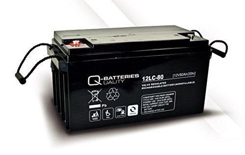 Solarbatterie Akku Quality-Batteries 12 LC-80 / 12V - 82Ah AGM-Deep Cycle