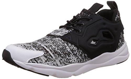Reebok Classics Men's Furylite Jf Black and White Running Shoes – 8 UK 416dW7EM4zL