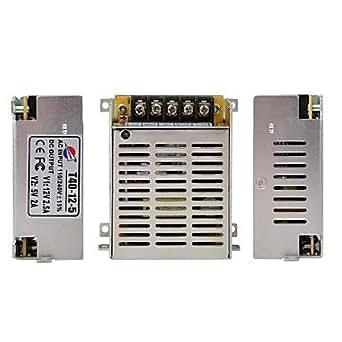 GX t40-12-5 de la 2.5a à 5V 2A alimentation à découpage régulée pour LED lumière et de caméra de sécurité de télévision en circuit fermé (110 ~ 220V)