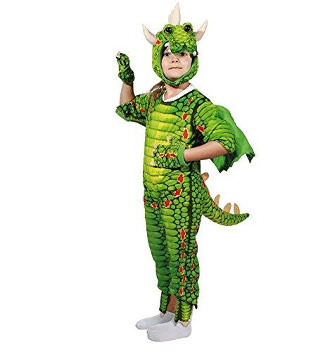 Preis am Stiel Drachenkostüm für Kinder Gr. S | Karneval | Fasching | Kinderkostüm | Verkleidung