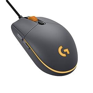 Logitech G Pro Gaming-Maus (Optischer Sensor, 12.000 DPI, 1.000 Hz – 1ms, RGB, Sechs programmierbaren Tasten)