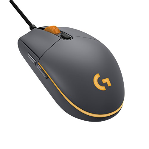 Logitech G Pro Optical Sensor Gaming Mouse (12,000 DPI; 1000 Hz 1ms, RGB, 6 Programmable Buttons – Black