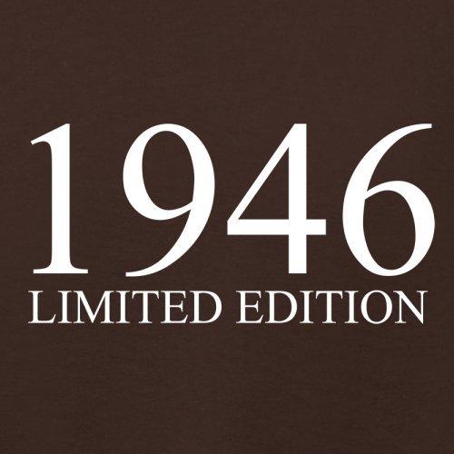 1946 Limierte Auflage / Limited Edition - 71. Geburtstag - Damen T-Shirt - 14 Farben Dunkles Schokobraun