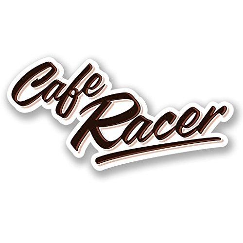Preisvergleich Produktbild 2x Cafe Racer Vinyl Aufkleber Aufkleber Laptop Reise Gepäck Auto Ipad Schild Fun # 5501 - 15cm/150mm Wide