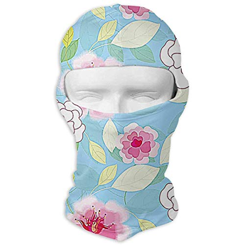 Colorful Flower Sunscreen Full Face Mask Windproof Ski Mask Motorcycle Mask Balaclava Womens Novelty Fashion Fashion11